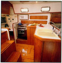 galley and navigation station
